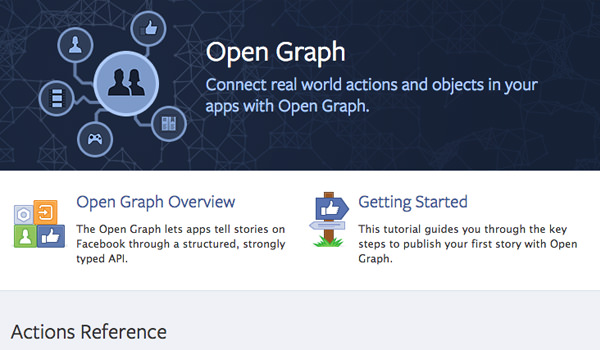 facebook documentation open graph connect developers