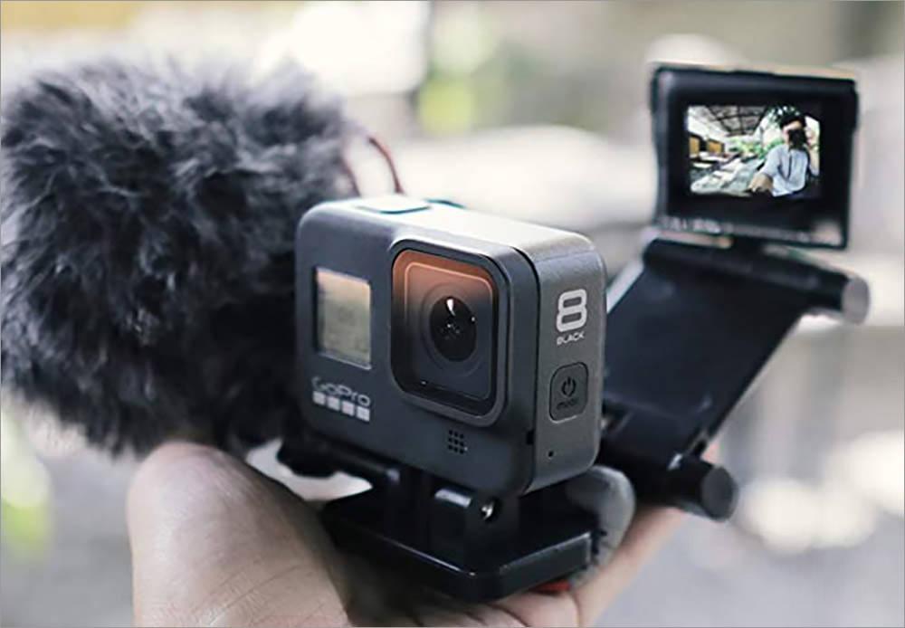 Vlog and Selfie Flip Mirror Set
