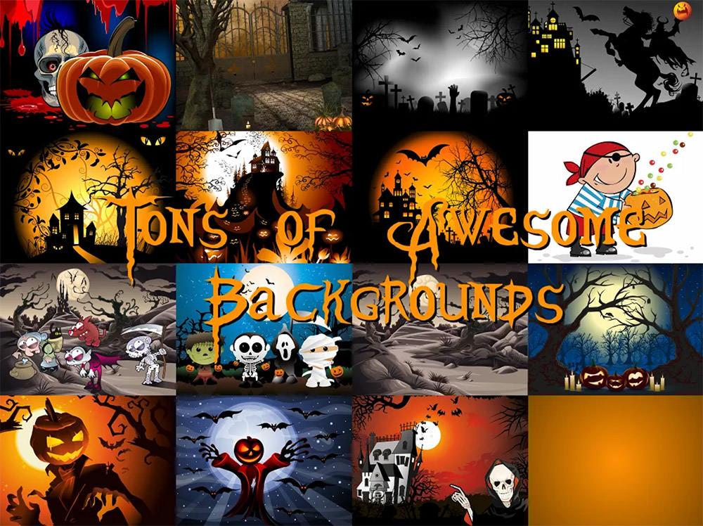 Создатель открытки на Хэллоуин