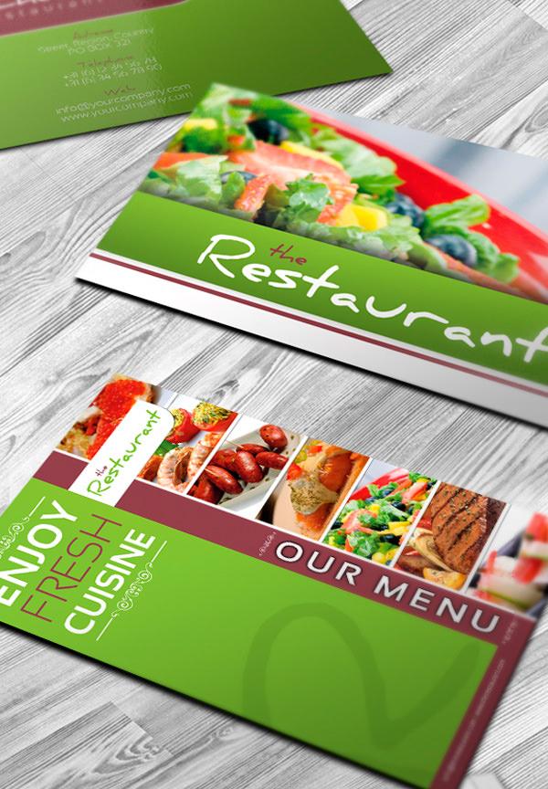 50 More Fantastic Printed Brochure Designs Hongkiat – Restarunt Brochure