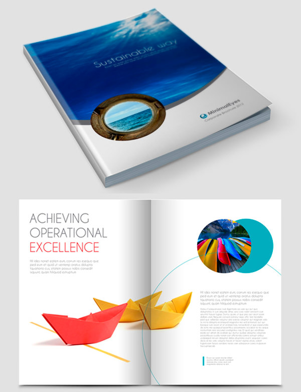50 beautiful printed brochure designs for your inspiration hongkiat - Brochure Design Ideas