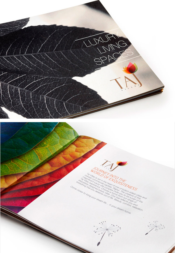 50 Beautiful Printed Brochure Designs For Your Inspiration - Hongkiat