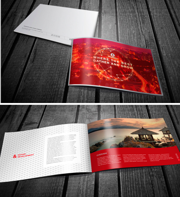 Connu 50 Beautiful Printed Brochure Designs For Your Inspiration - Hongkiat LH82