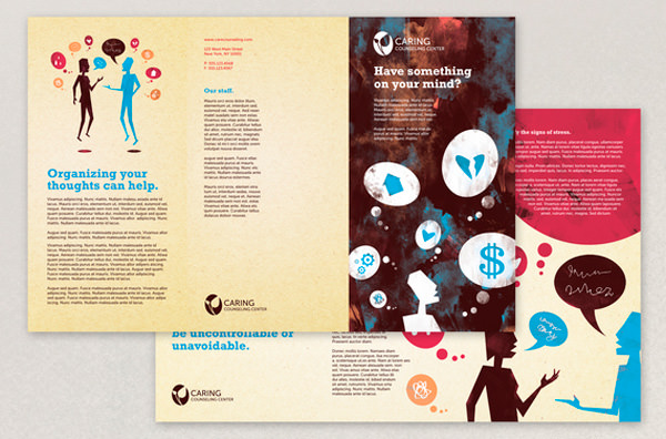 Beautiful Printed Brochure Designs For Your Inspiration Hongkiat - Brochure template ideas