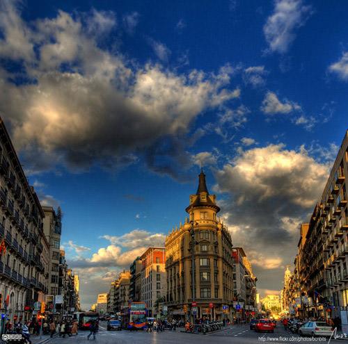 Barcelona HDR