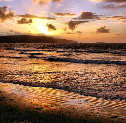 Broadhaven Sunset