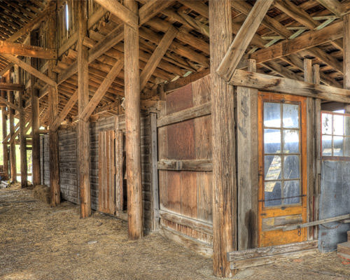 HDR Barn Door