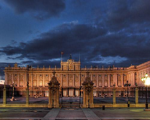 Palacio REal, Nocturno