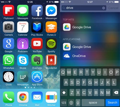 app spotlight