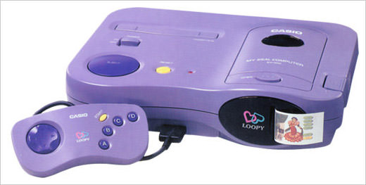 CasioLoopy-game-console