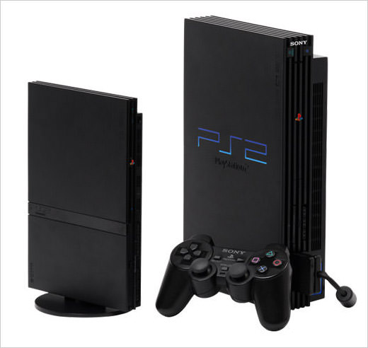 PS2-game-console