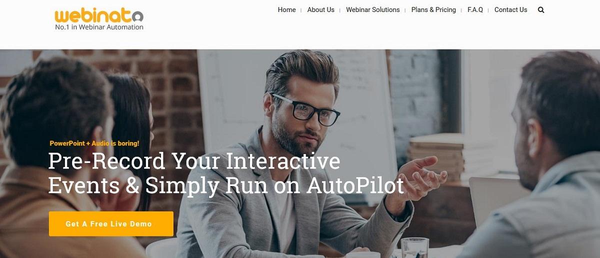 Webinato webinar tool