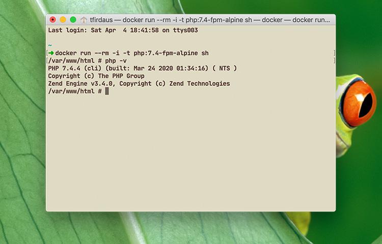 چگونگی بروزرسانی PHP به آخرین ورژن