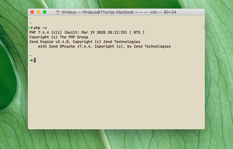 php7.4 − چگونگی بروزرسانی PHP به آخرین ورژن