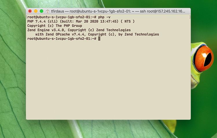 php ubuntu
