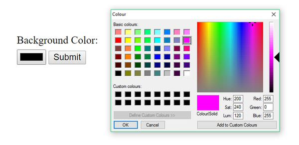 Color Validation