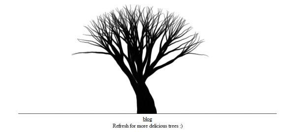 canvas trees