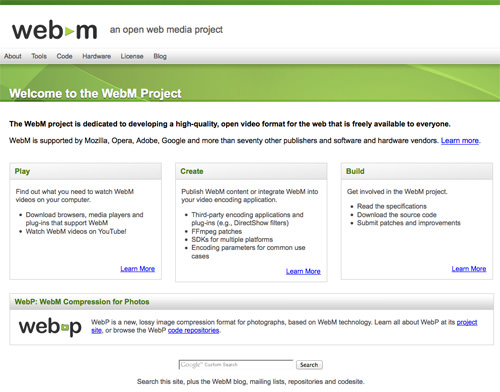 WebM Open Project video source