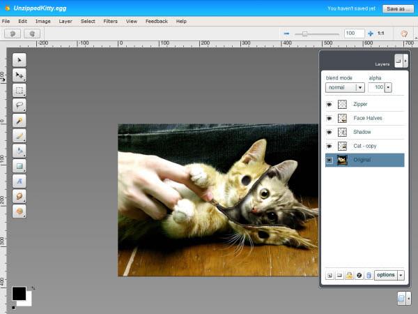 Aviary's Image Editor