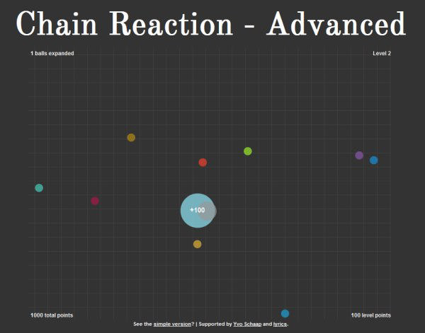 Chain Reaction - Advanced