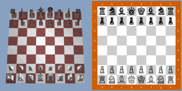 HTML5 3D Chess Game