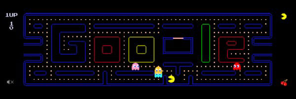 PAC-MAN - Google