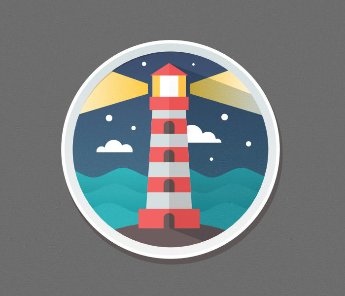 lighthouse-flat-icon