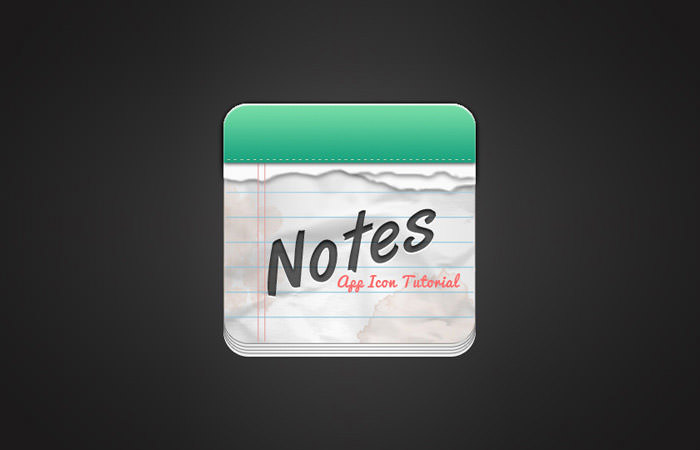 create-notes-app-icon-photoshop