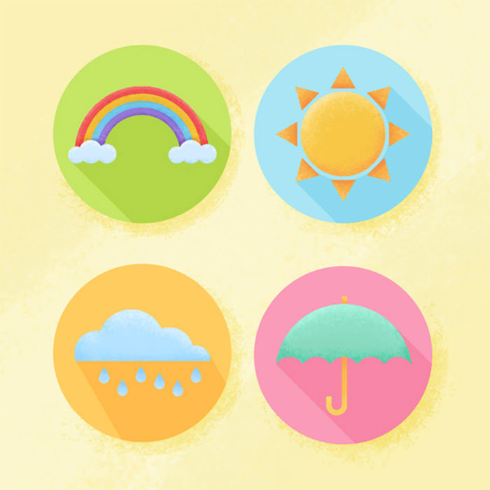 flat-weather-icons