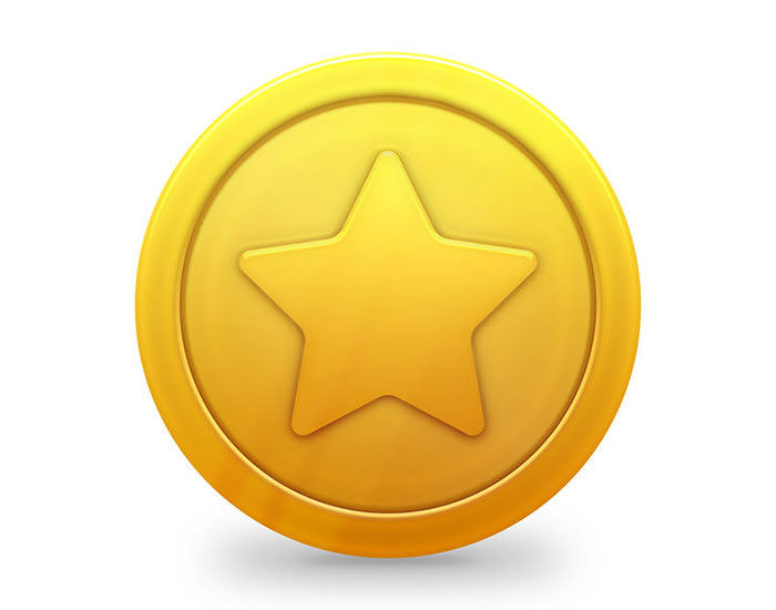 shiny-gold-star-coin