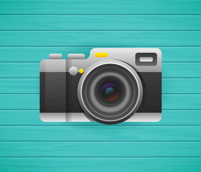 flat-camera