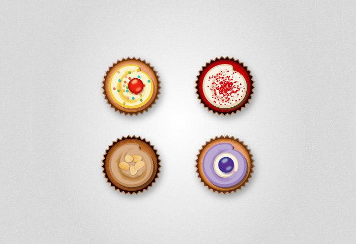 cupcake-icons