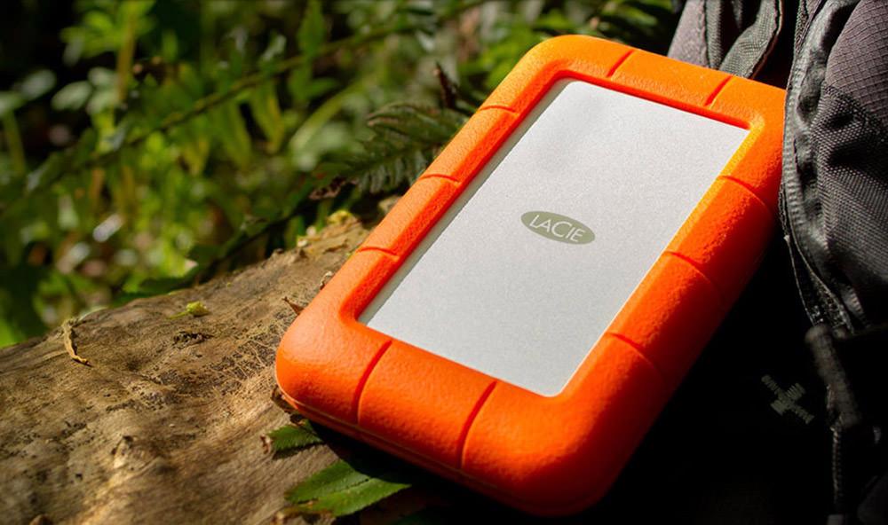 LaCie Rugged Portable HD