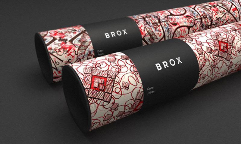 Ejemplos de identidad de marca: Brox