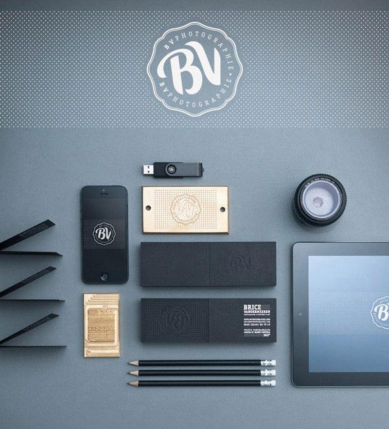Ejemplos de identidad de marca: Fotografía BV