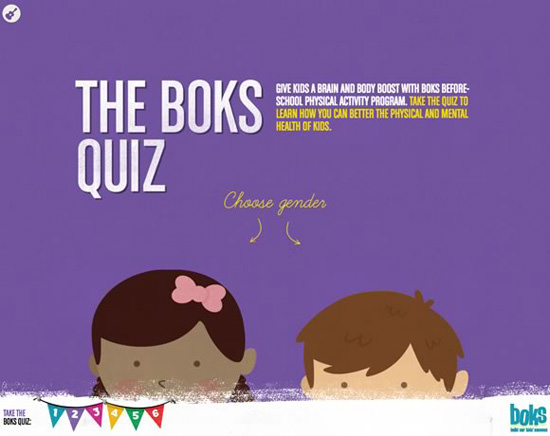Boks Quiz illustration