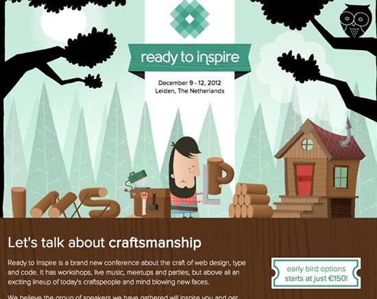 Inspire Conference illustration