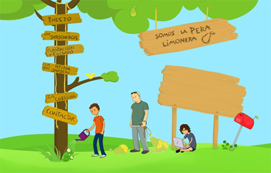 Somos La Pera Limonera illustration
