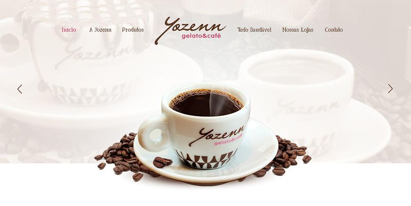 Yozenn Cafe Home Page