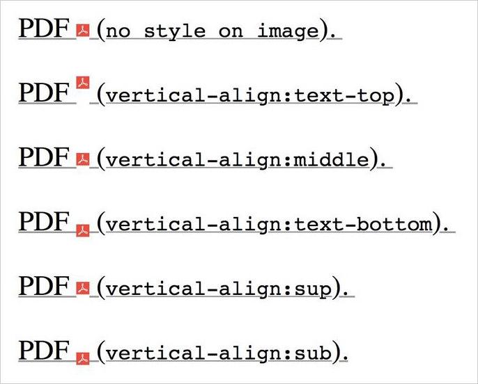 Vertical align