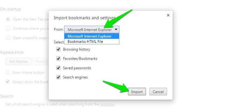 How to Import and Export Browser Bookmarks - Hongkiat