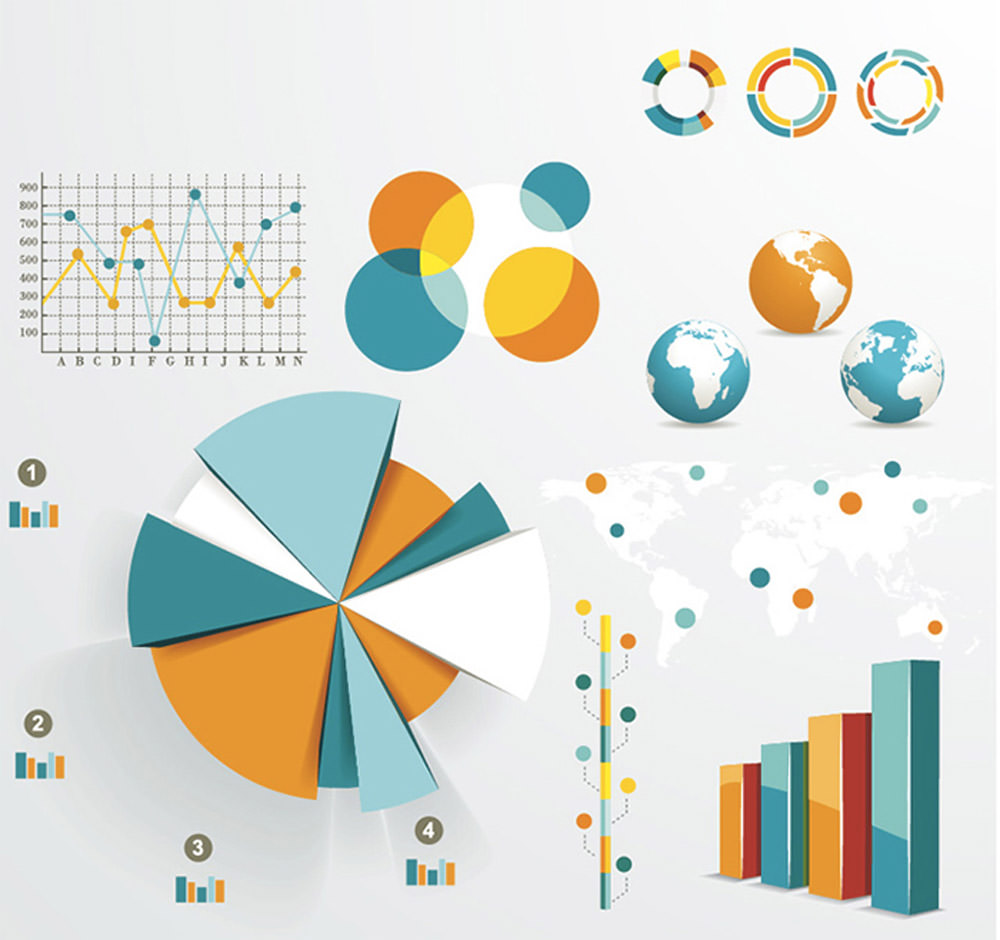 Infographics & Chart Design Elements 4