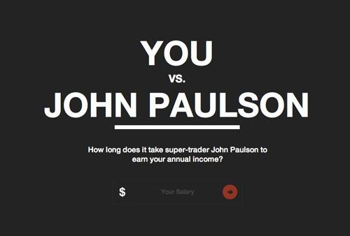 You vs. John Paulson