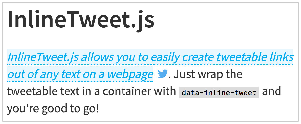 InlineTweet.js script