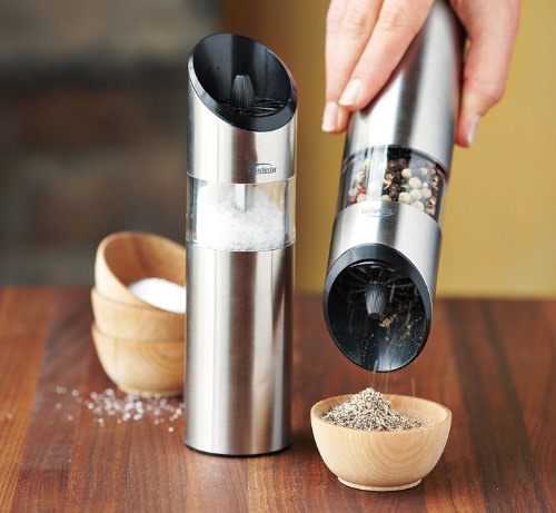 Graviti Electric Salt & Pepper Mills