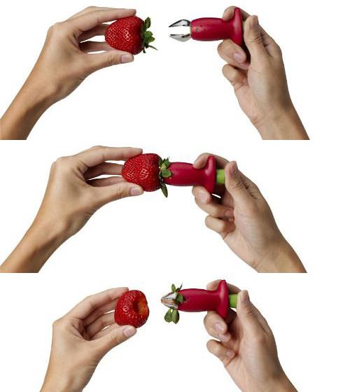 Chef'n StemGem Strawberry Stem Remover