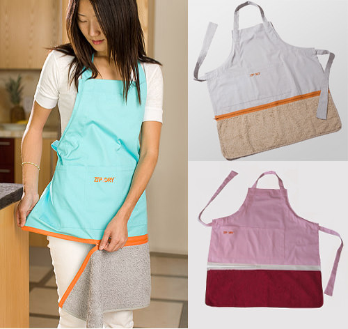 Zip & Dry Apron Towel
