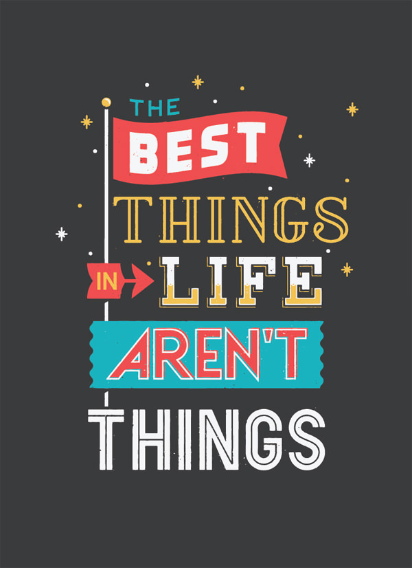 Life Quote Posters Alluring Typography Posters 20 Great Quotes To Inspire You  Hongkiat