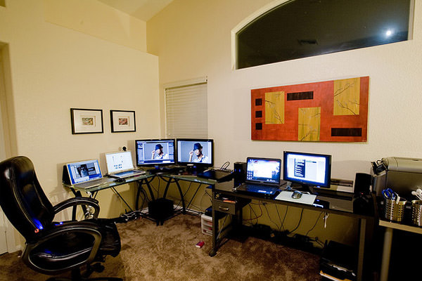 home office command center