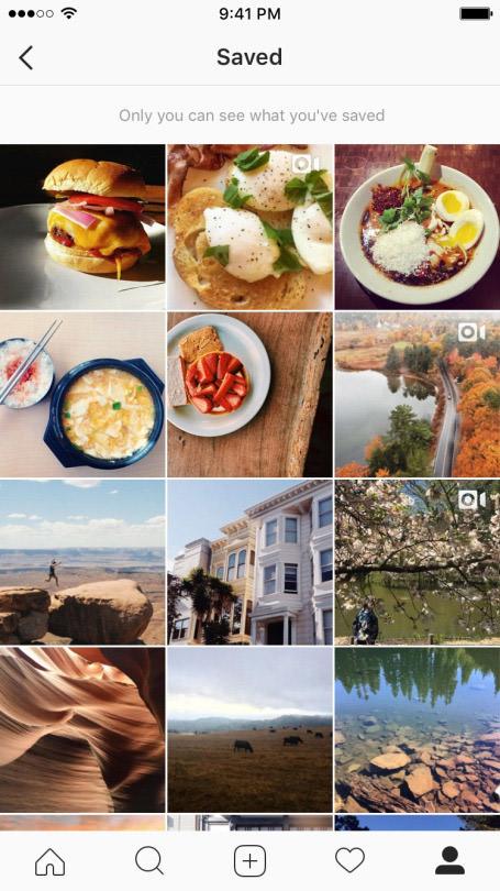 instagram saved images